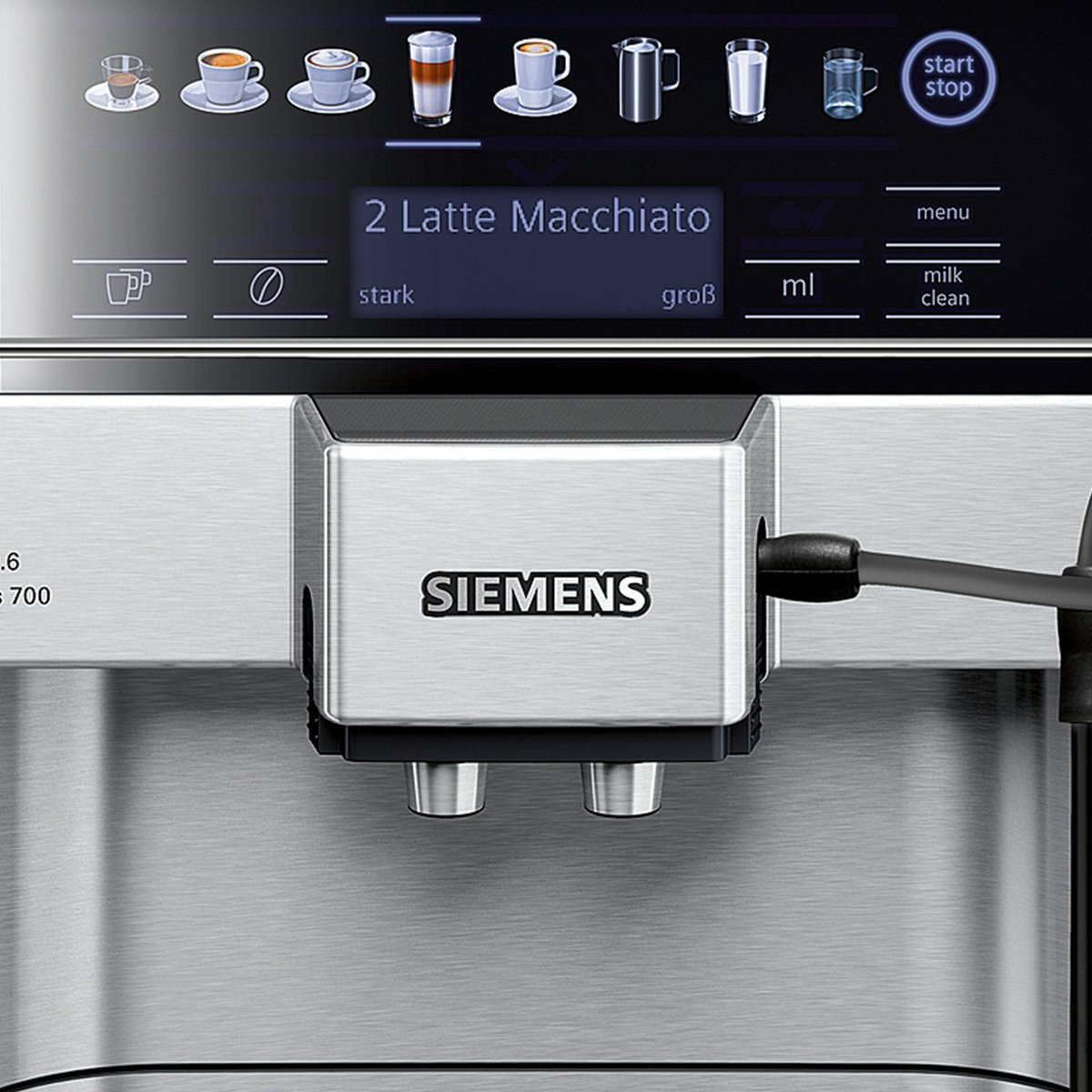siemens eq 6 s700 test aroma kaffeevollautomat. Black Bedroom Furniture Sets. Home Design Ideas