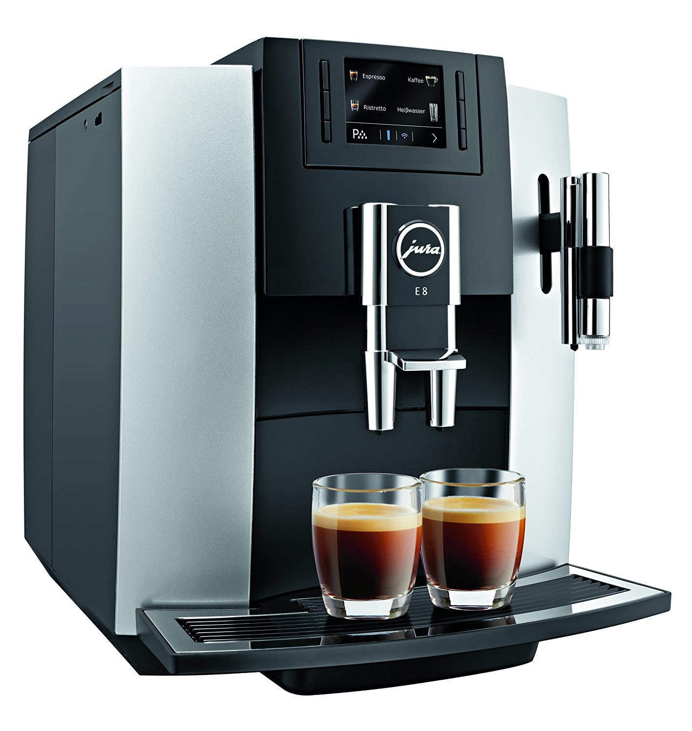jura e8 test aroma kaffeevollautomat. Black Bedroom Furniture Sets. Home Design Ideas