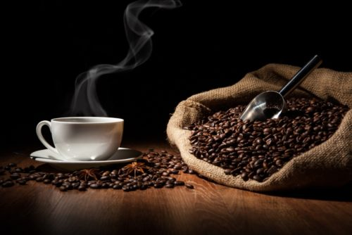 Kaffee Bohnen und Aufbewahrung