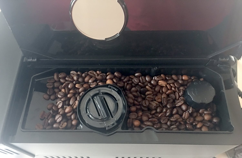 Saeco Incanto Kaffeebohnenfach