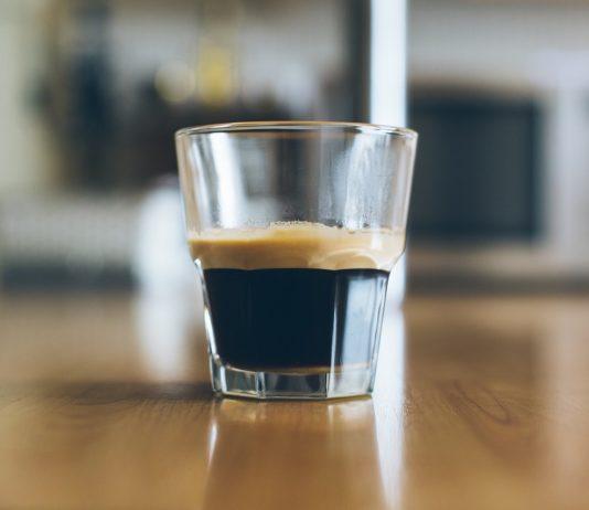 Espresso im Glas