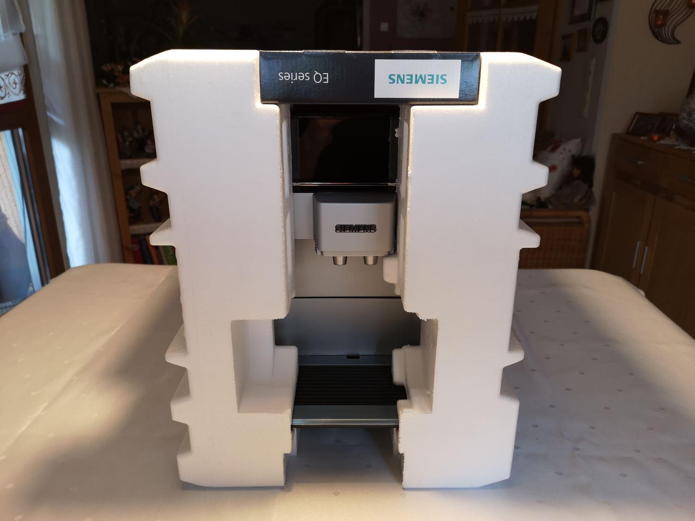 Siemens EQ 6 s300 Verpackung Styropor