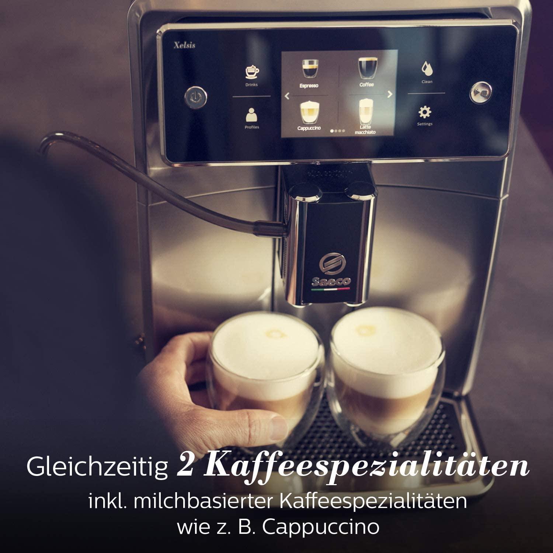 Saeco Xelsis Kaffespezialitäten